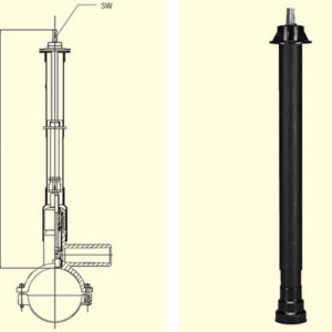 Монтажный набор EBS для вентилей DAV
