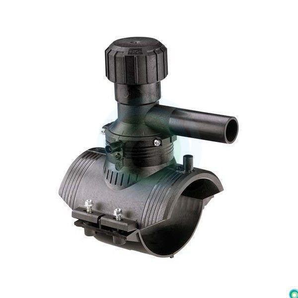 Т-образный отвод с ответной частью 360* д.0110х0063 SDR11 ПЭ100 GF